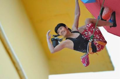 Crowd Favourite, Ashima Shiraishi is one of the current strongest climbers.
